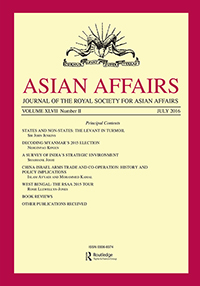 Asian Affairs