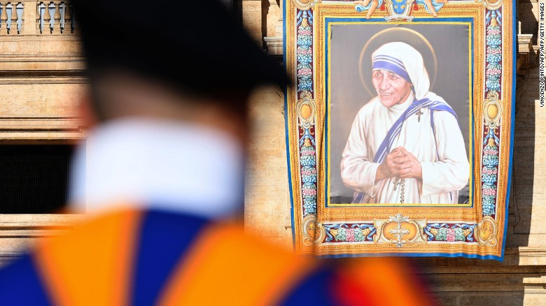 Mother Teresa declared a saint before huge crowds in the Vatican