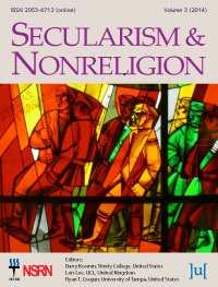 Secularism and Nonreligion
