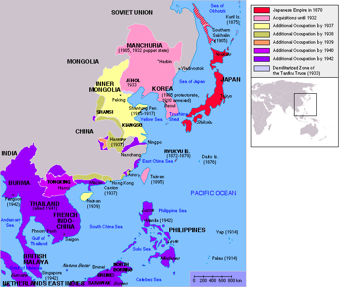 japan's greater east asian co prosperity sphere