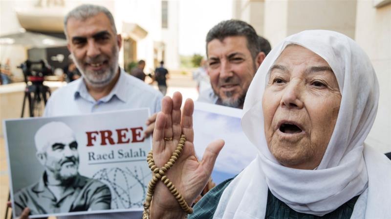 Palestinians decry arrest of Islamic movement leader