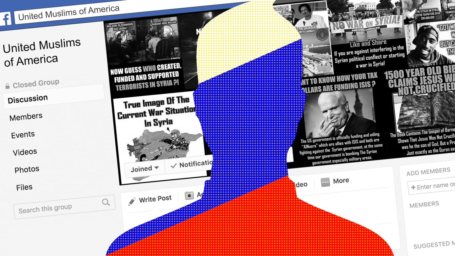 Russians Impersonated Real American Muslims to Stir Chaos on Facebook and Instagram
