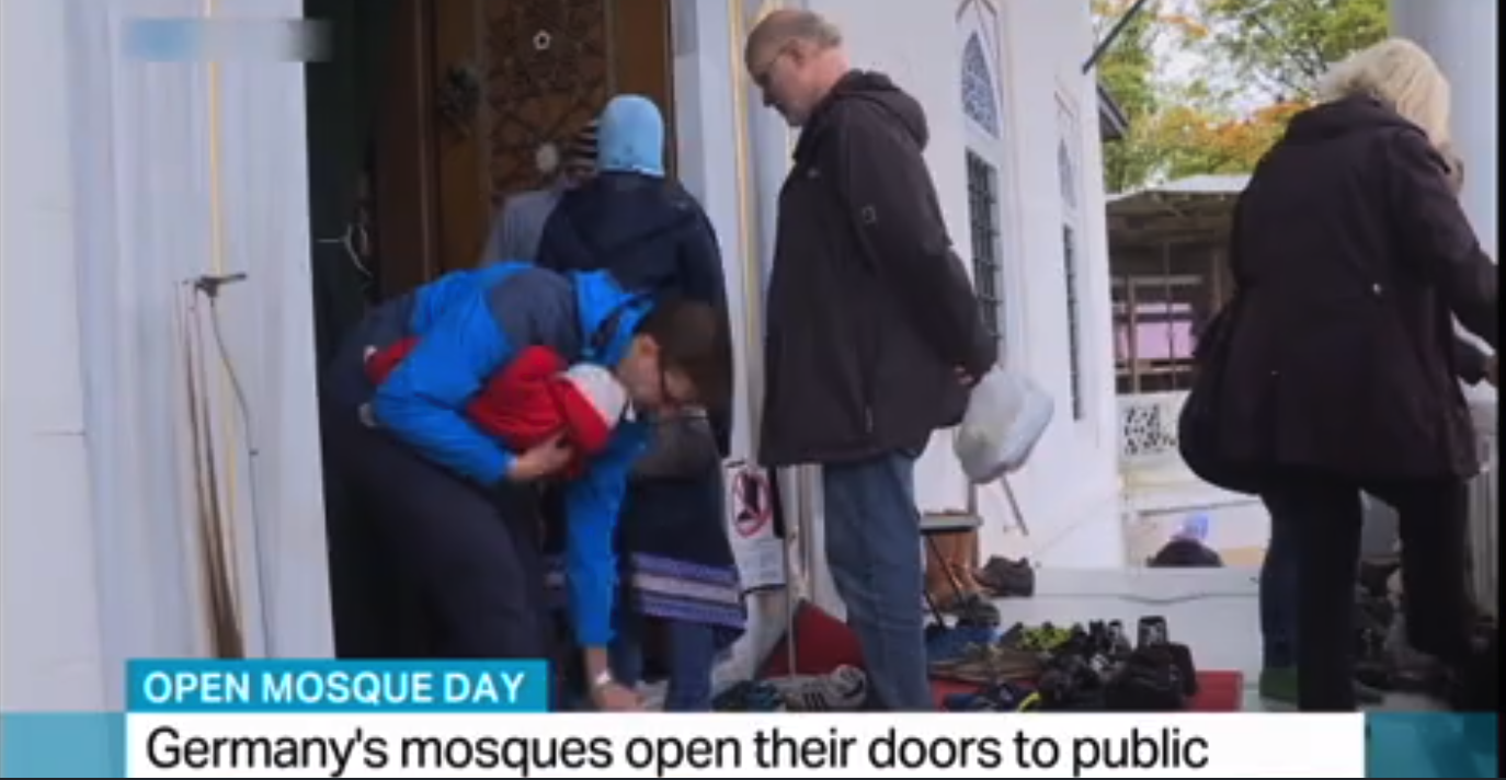 Mosques hold open day for non-Muslims in Germany