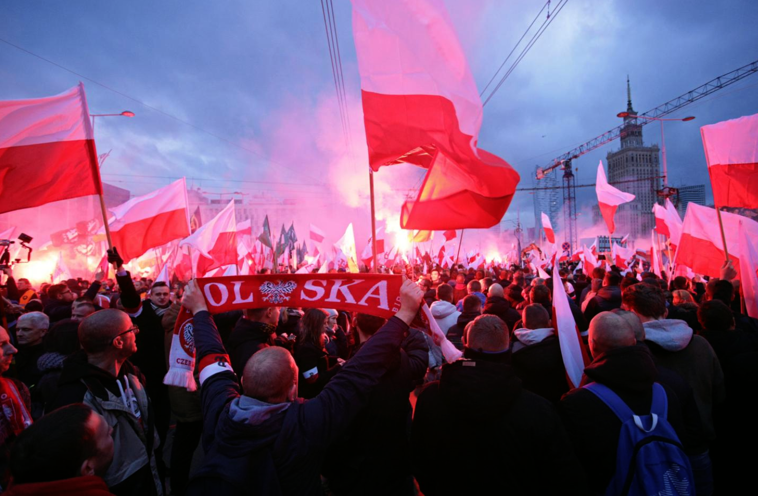 Poland Nationalist Rally with Neo-Nazi Slogans Calls for 'Islamic Holocaust' Draws Biggest Crowd Ever