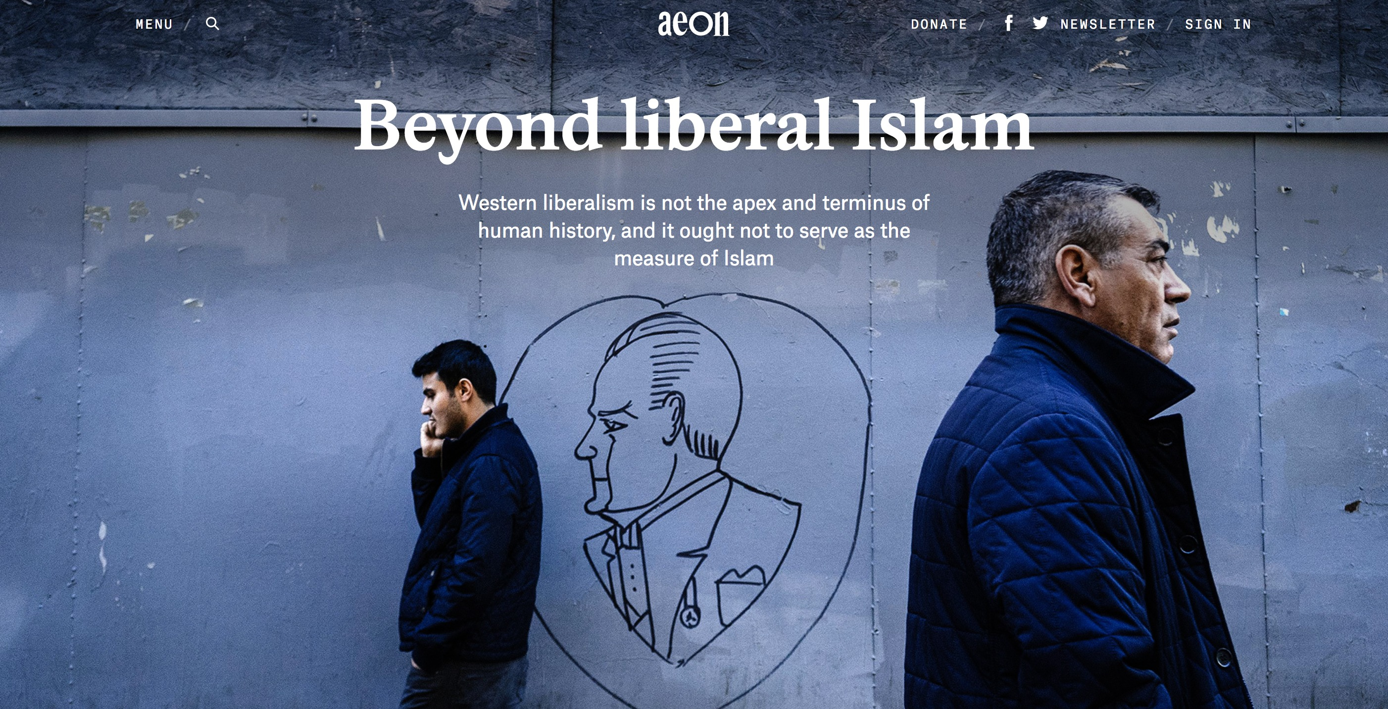 Is It Time to Look Beyond the Idea of Liberal Islam?