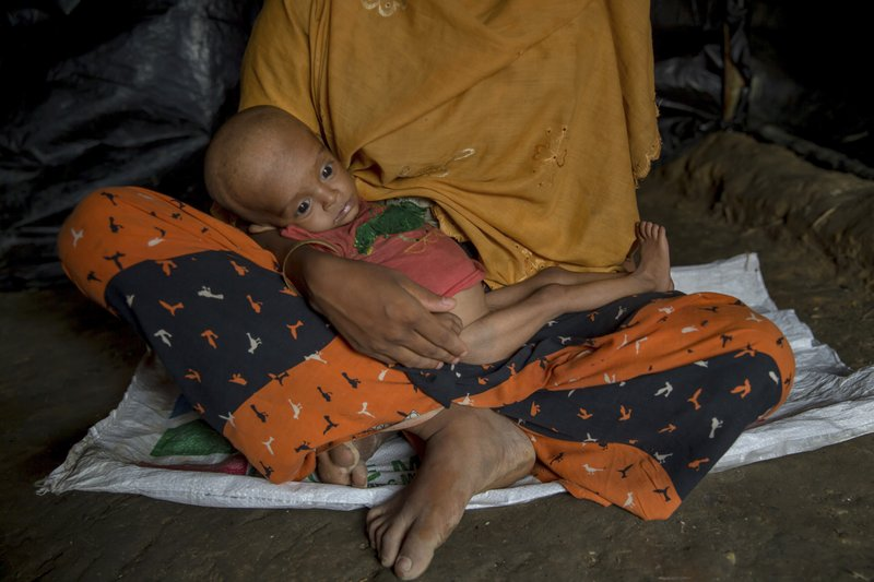 AP Exclusive: Rohingya Say Military Cut Off Food In Myanmar