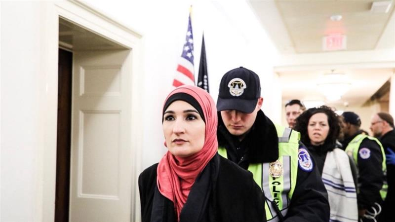 Linda Sarsour Arrested At Paul Ryan's Office