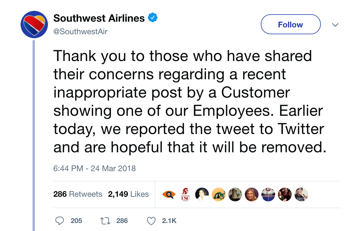 People Call on Southwest Airlines to Ban Passenger After Anti-Muslim Tweet
