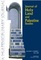 Journal of Holy Land and Palestine Studies