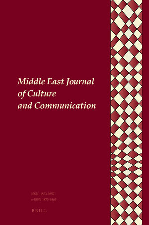 Middle East Journal of Culture and Communication