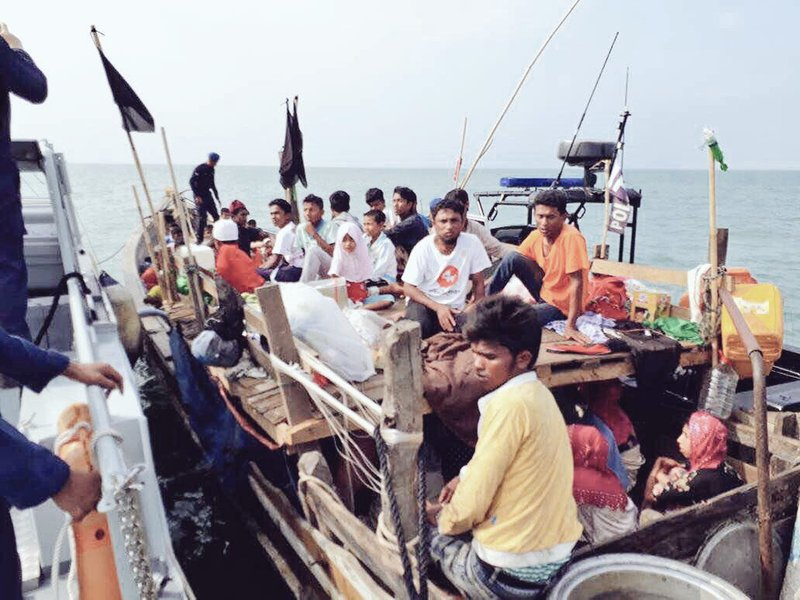 Malaysia Intercepts Boat Carrying Rohingya Refugees