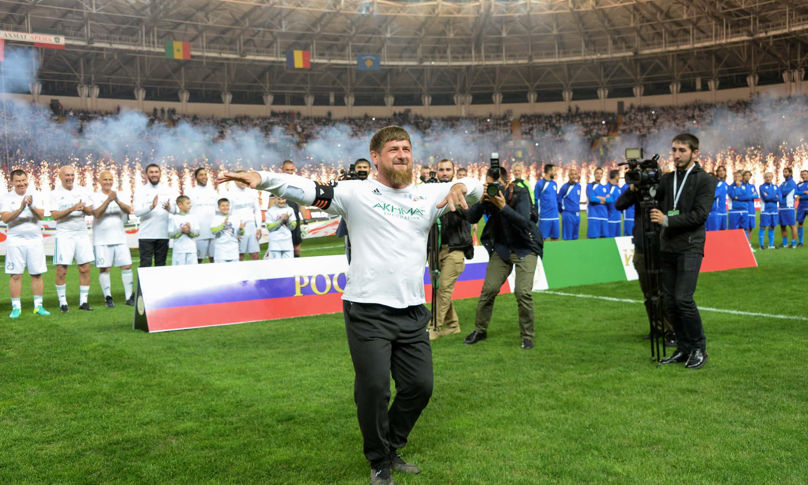 All Eyes on Ramzan Kadyrov as Chechnya Hosts Egypt in World Cup