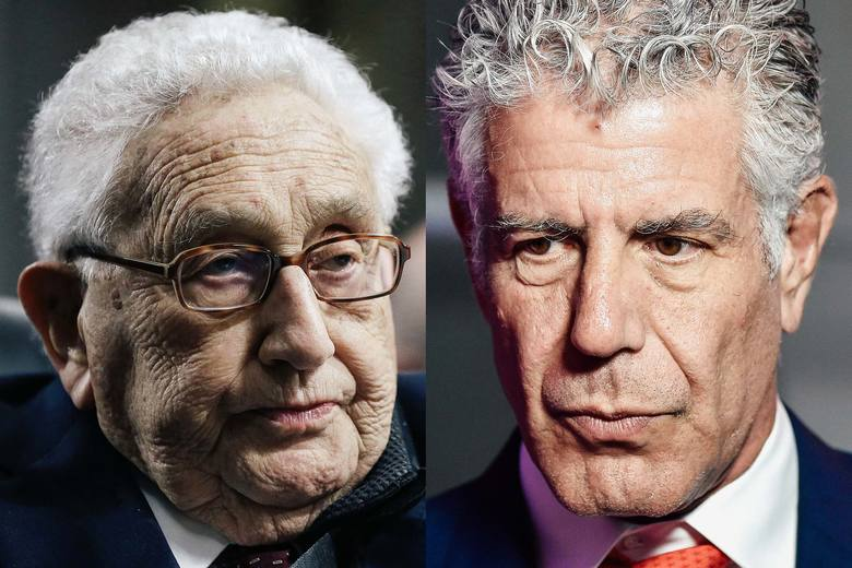 Anthony Bourdain Really, Really Hated Henry Kissinger