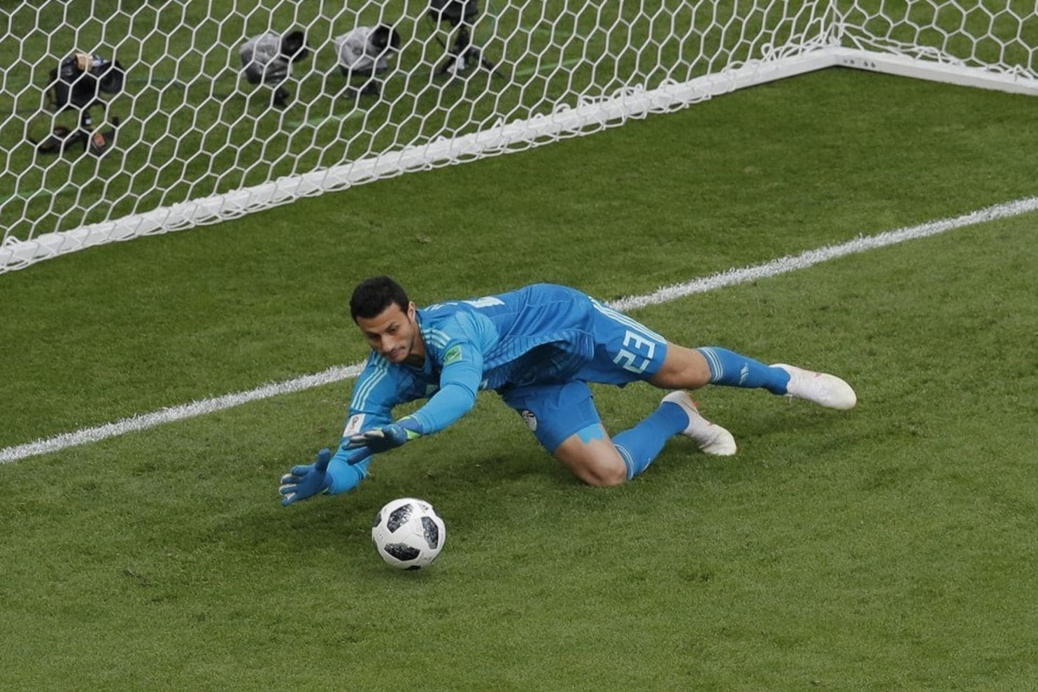 Egypt Goalkeeper Declines Budweiser-Sponsored 'Man of the Match' Trophy at World Cup