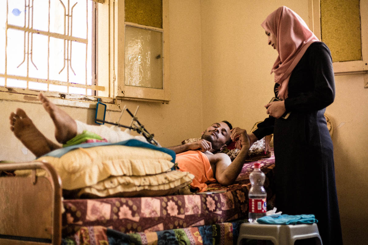 Home as Hospital: Gaza Families Struggle to Care for the Wounded