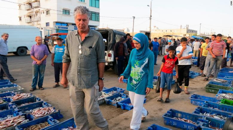 How Anthony Bourdain Helped Humanize the Muslim Community