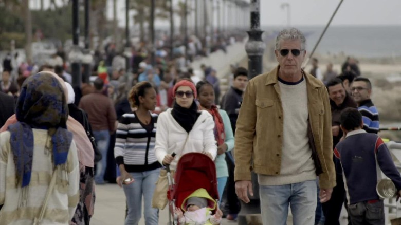 Anthony Bourdain shone a different light on the Middle East