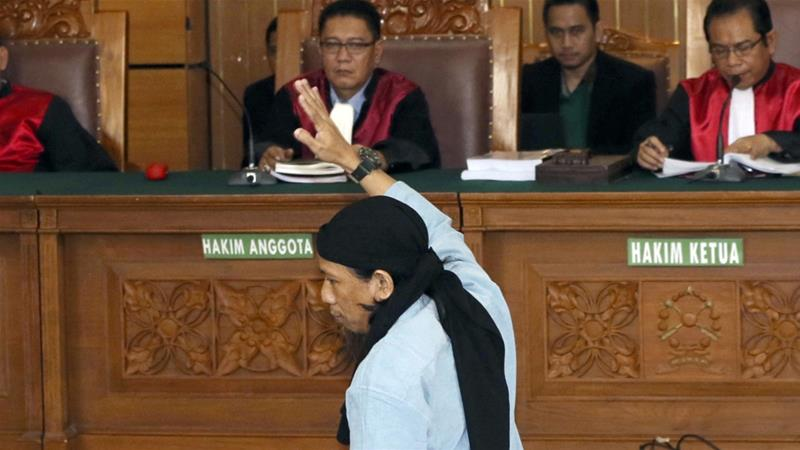 Indonesian Muslim Leader Sentenced to Death over 2016 Attack