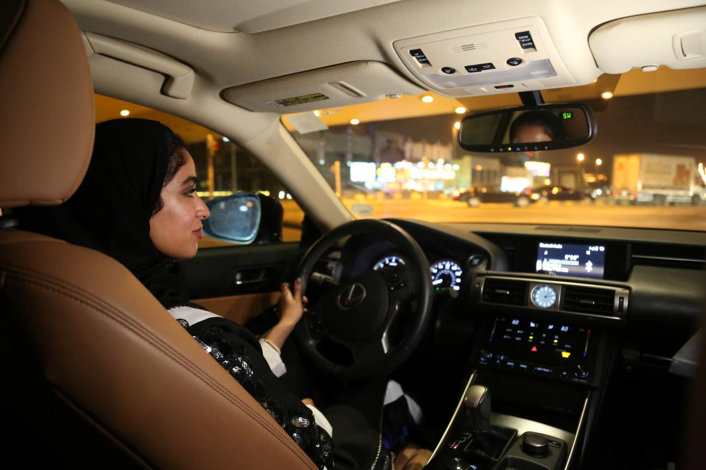 Saudi Women Take the Wheel at Midnight as Driving Ban Ends