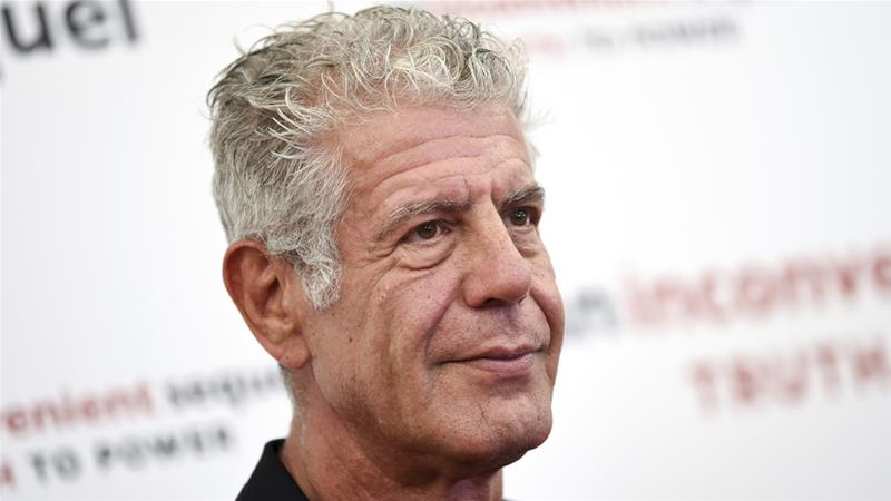 Tributes pour in for celebrity chef and writer Anthony Bourdain