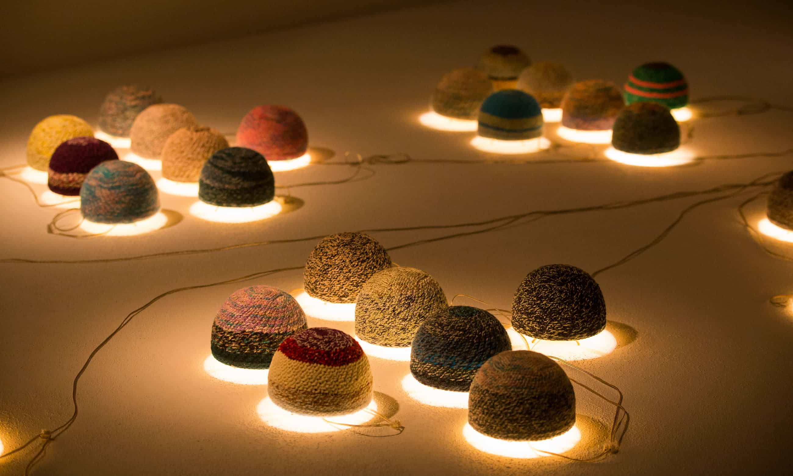 When 77 Hats Do the Lotus Position: the Cosmic World of Younes Rahmoun