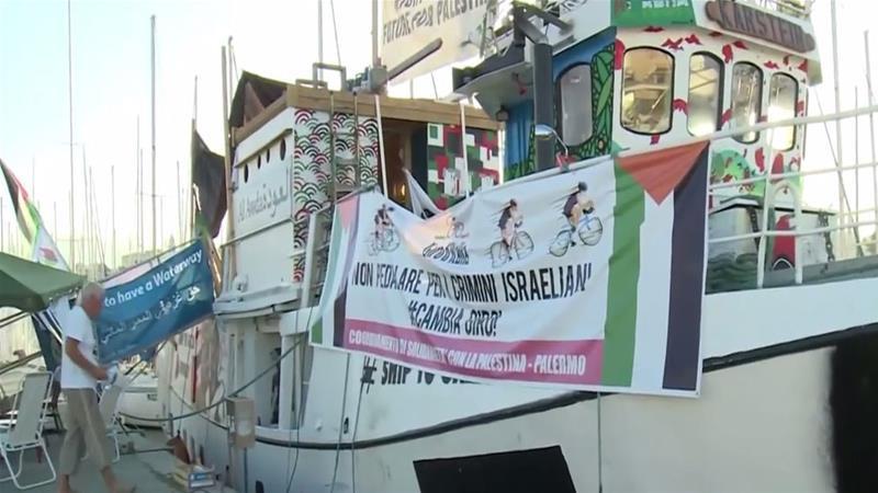 Israel Intercepts Aid Boat Bound for Besieged Gaza Strip