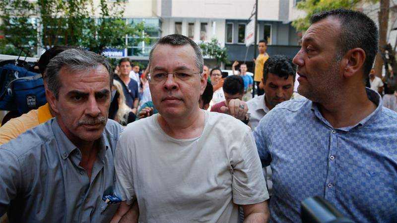 US Threatens to Sanction Turkey Over Detained American Preacher
