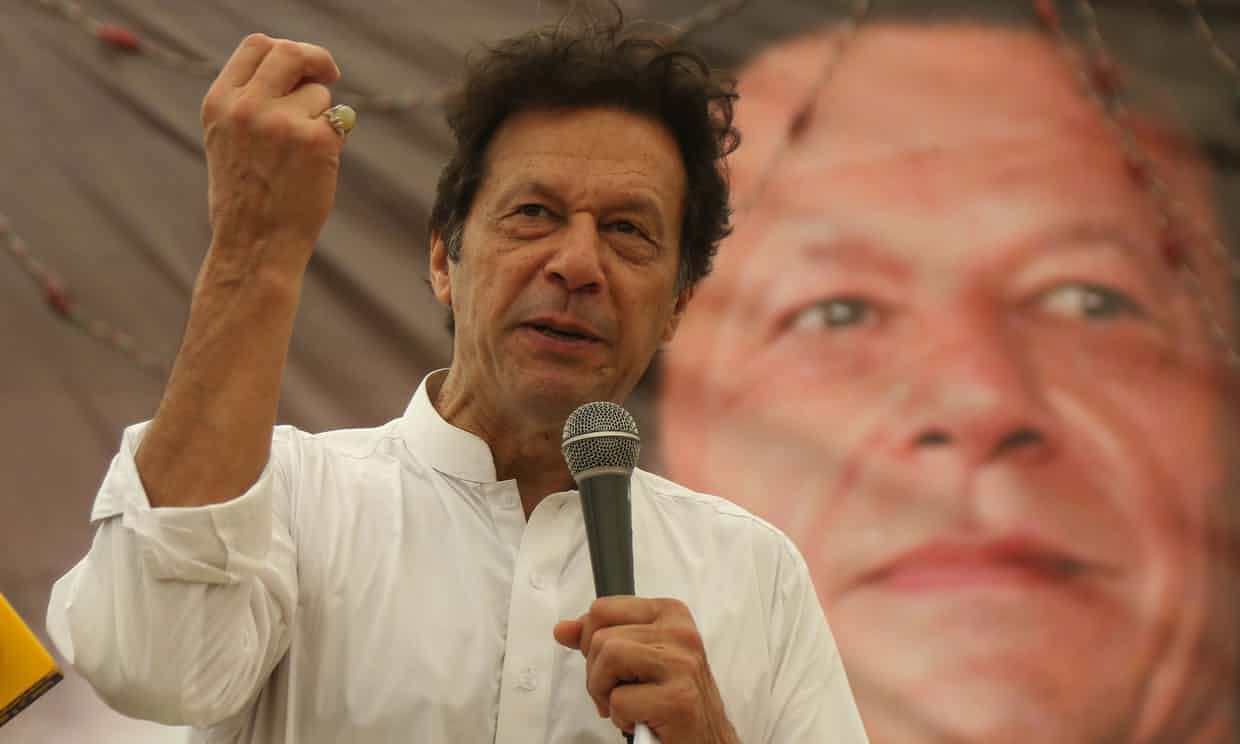 Imran Khan Criticised for Defence of Pakistan Blasphemy Laws