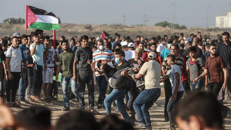Israeli Forces Kill 15-Year-Old Palestinian, Wound Scores