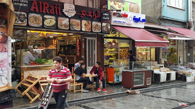 Life Goes on the Syrian Way in Istanbul's 'Damascus Bazaar'