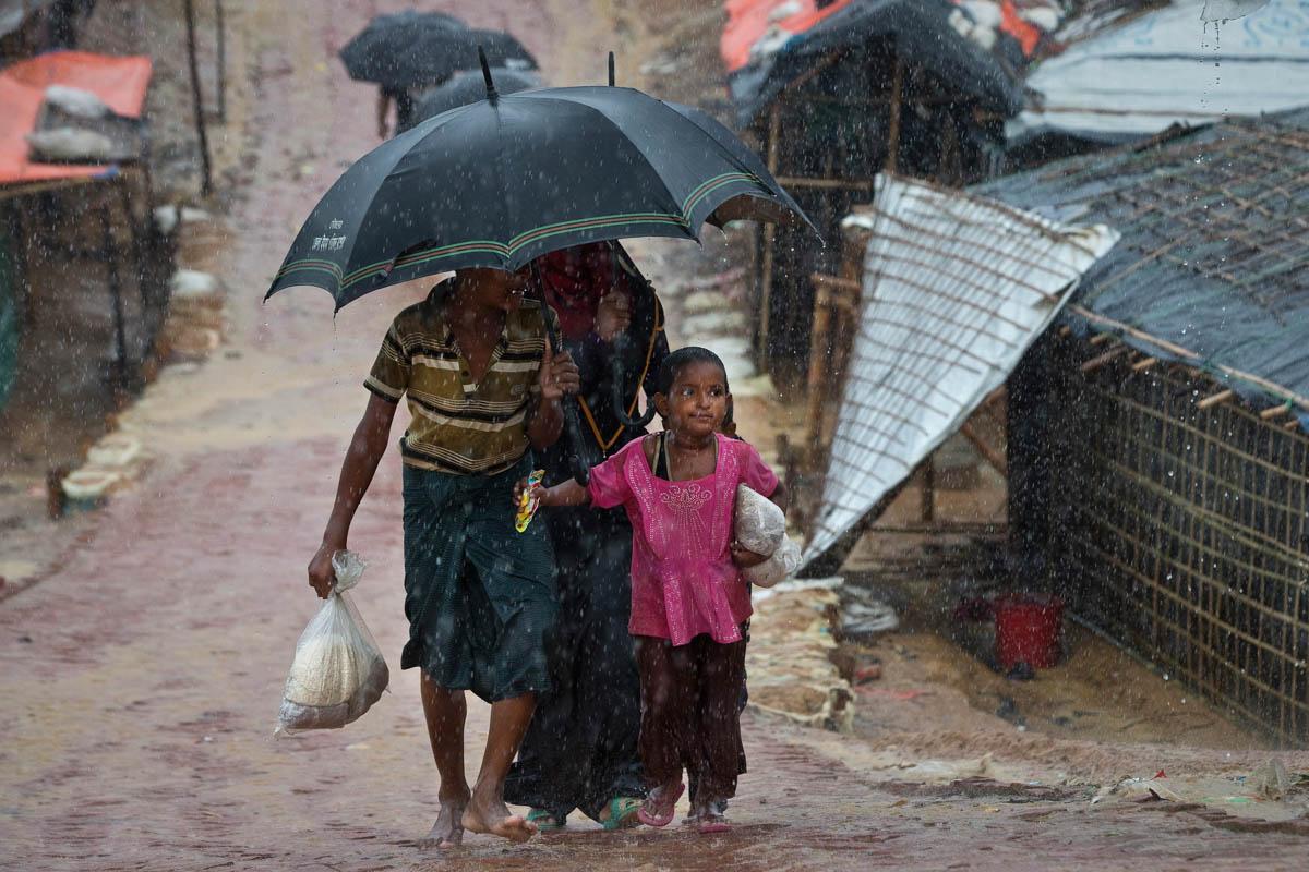 Monsoon Season Threatens Rohingya Refugees in Bangladesh