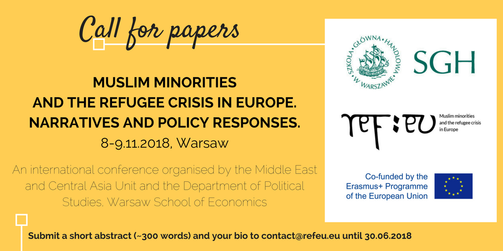 Muslim Minorities and the Refugee Crisis in Europe: Narratives and Policy Responses