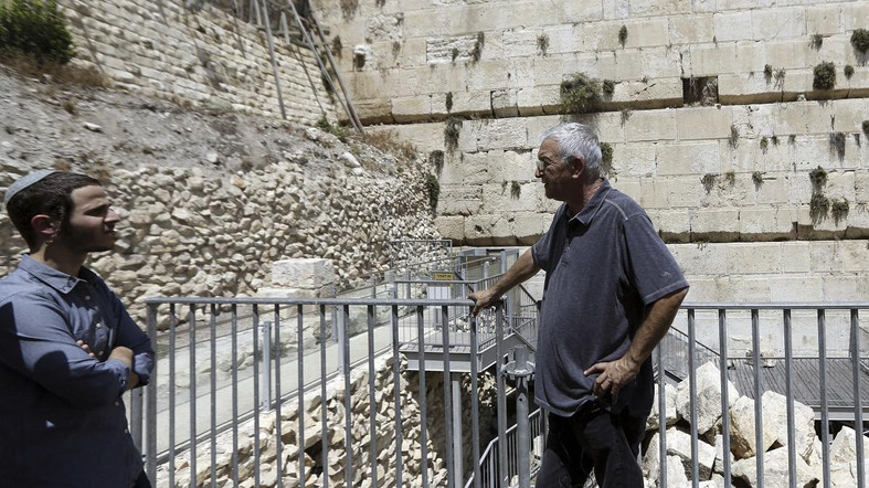 Western Wall Stone Crashes Down in Jerusalem