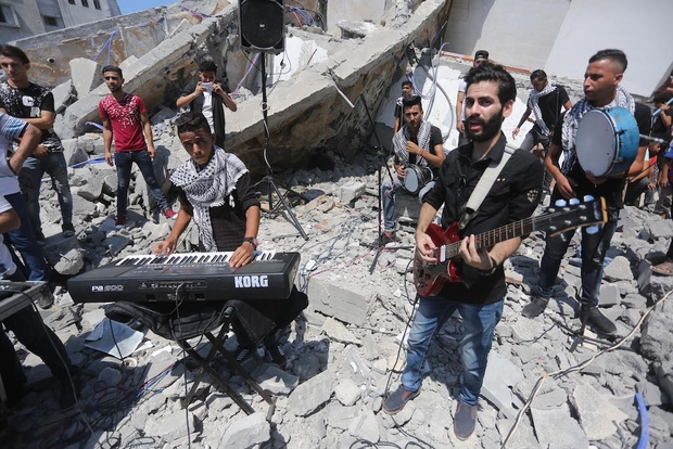 'Art is a Form of Resistance': Israeli Airstrikes Destroy Gaza Cultural Centre