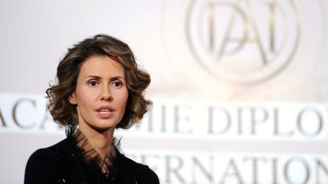 Asma al-Assad: Syria's First Lady Treated for Breast Cancer
