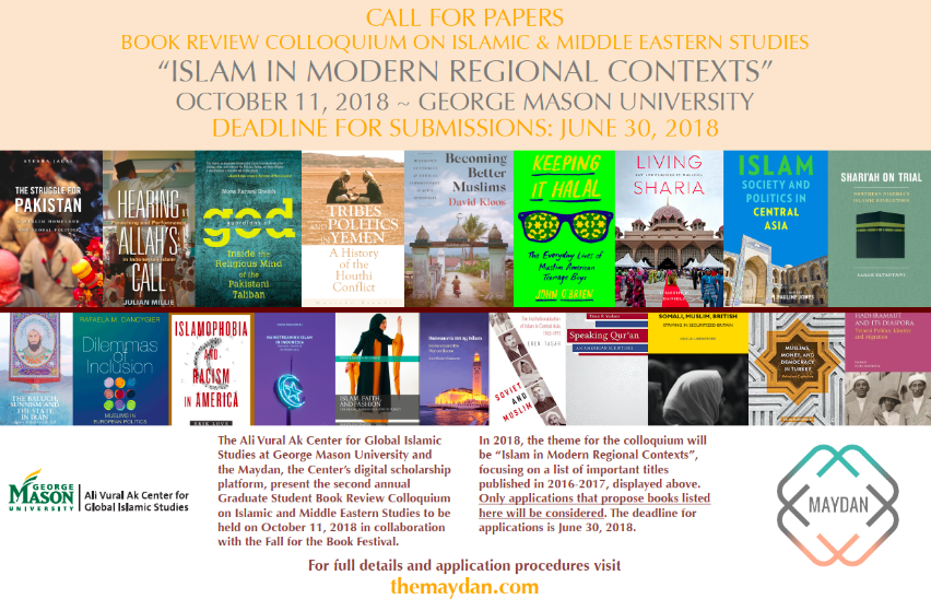 Book Review Colloquium in Islamic and Middle East Studies for Grad Students