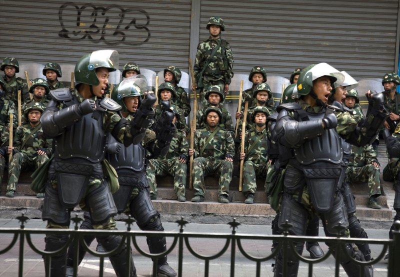 China rejects US lawmakers' sanctions call over Muslim camps