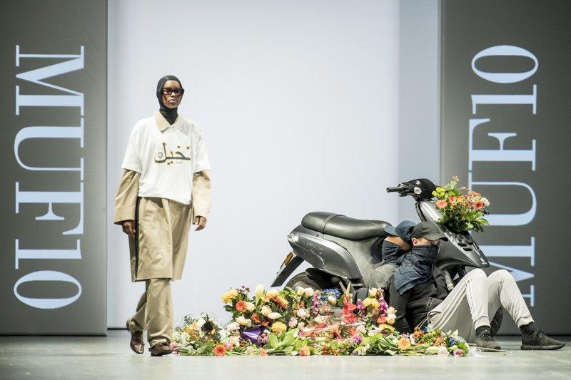 Danish Designer Uses Runway to Make Statement on Burqa Ban