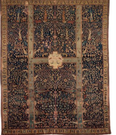 Garden Paradise: The Magnificent Safavid Garden Carpet from the Burrell Collection, Glasgow