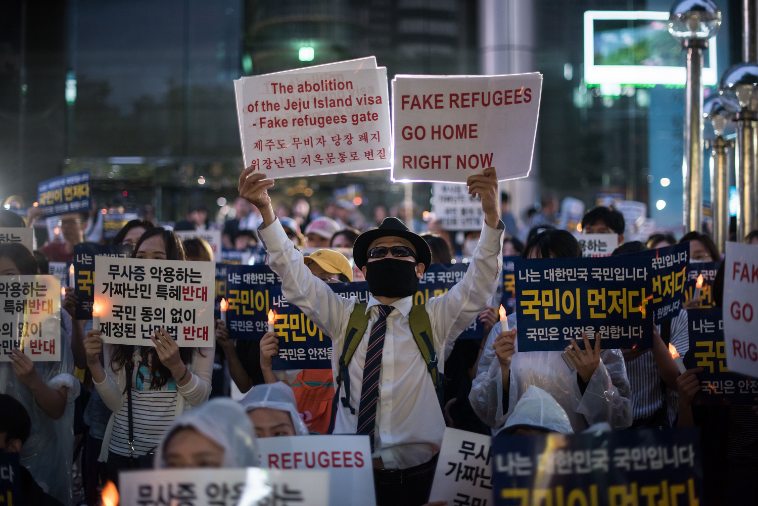 South Korea Is Going Crazy Over a Handful of Refugees