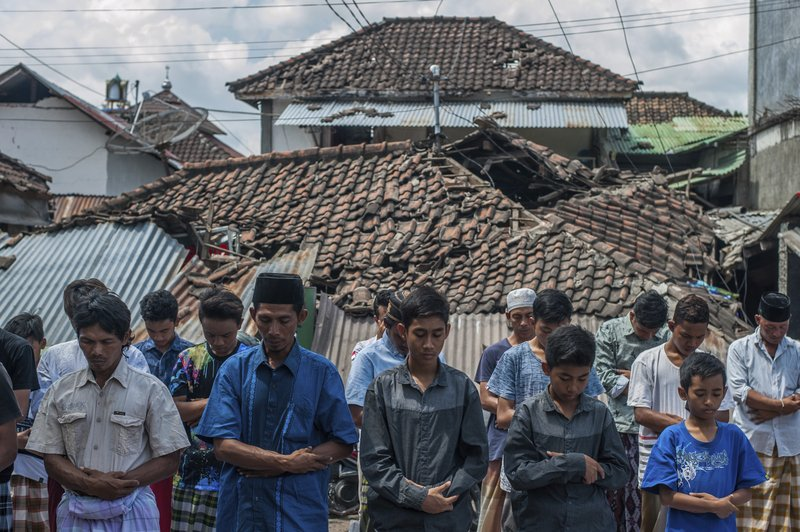 Rebuilding Mosques Priority for Devout on Quake-Hit Lombok