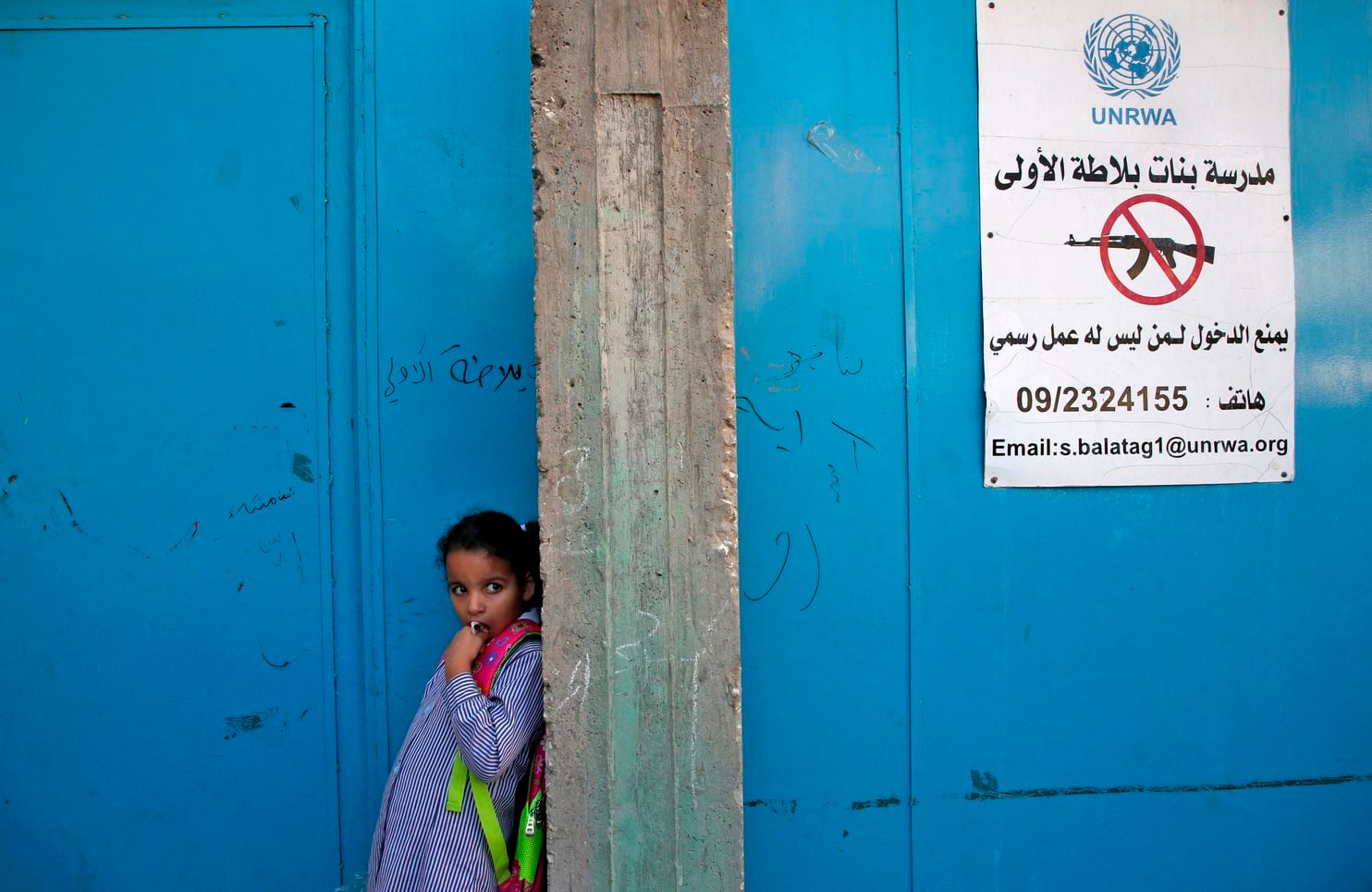 Trump administration to end U.S. funding to U.N. program for Palestinian refugees