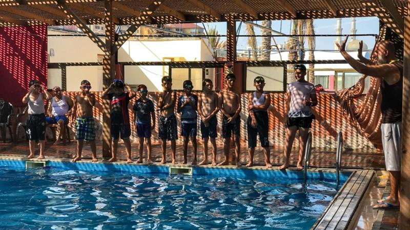 The Other Side of Gaza: Swimming, Canoeing and 'Trying' to Be a Child