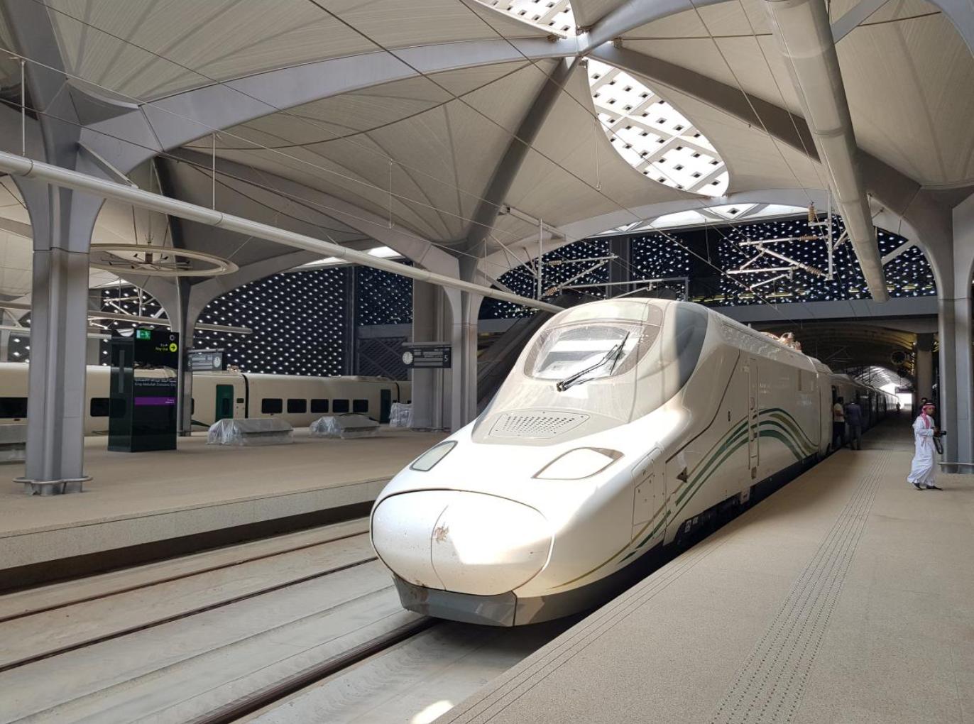 Saudi Arabia opens high-speed train linking Islam's holiest cities