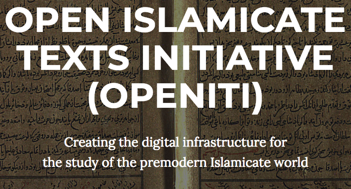 Open Islamicate Texts Initiative