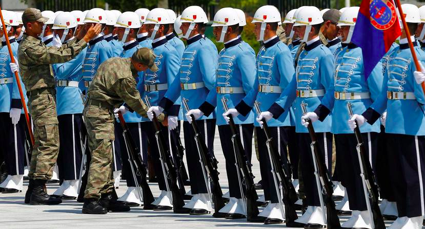 Turkish military's tradition of secularism facing tough test