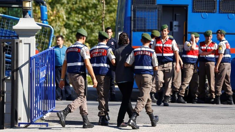 Turkey arrests 61 soldiers over alleged Gulen links: state media