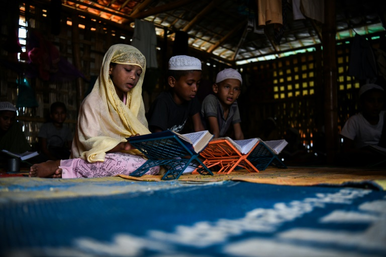 Madrassas a place of prayer and peace for Rohingya kids