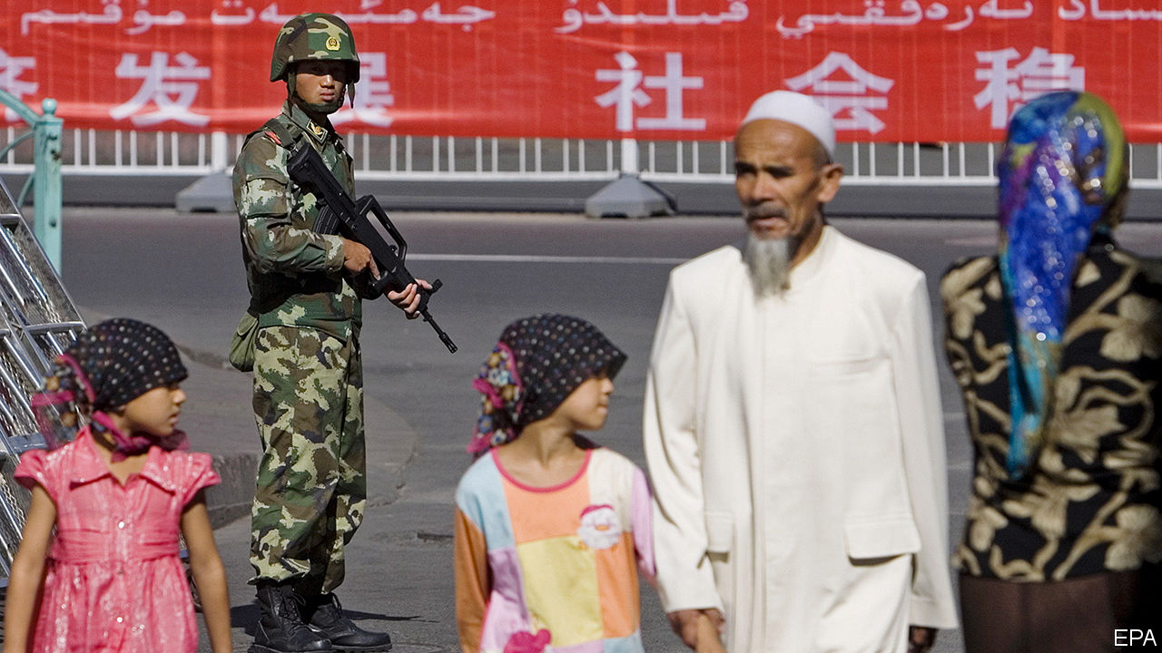 China defends the mass internment of Muslims