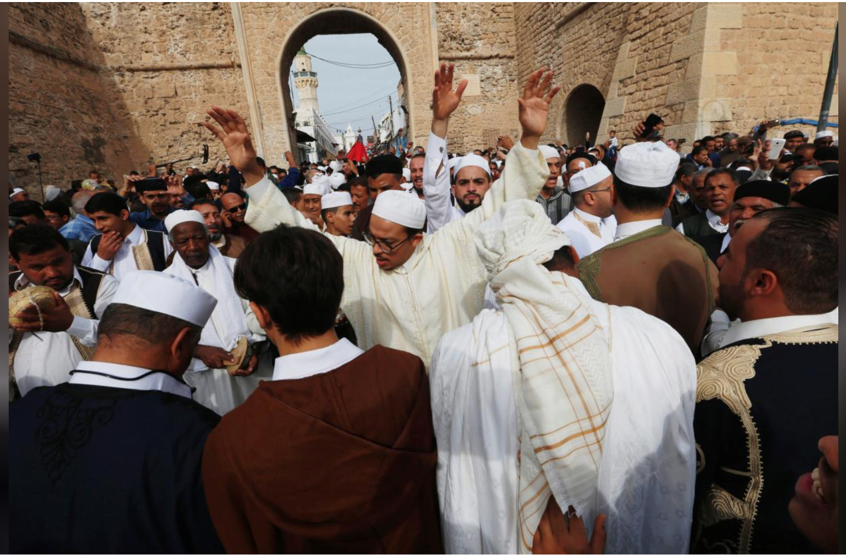 Libyan Sufis celebrate Prophet's birthday despite security fears
